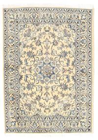 Nain Tappeto 148X205 Orientale Fatto A Mano Beige/Grigio Chiaro (Lana, Persia/Iran)