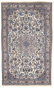Nain Tappeto 151X255 Orientale Fatto A Mano Grigio Scuro/Beige (Lana, Persia/Iran)