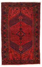 Zanjan Tappeto 126X205 Orientale Fatto A Mano Rosso Scuro/Marrone Scuro/Ruggine/Rosso (Lana, Persia/Iran)
