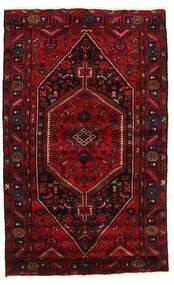 Hamadan Tappeto 137X223 Orientale Fatto A Mano Rosso Scuro/Rosso (Lana, Persia/Iran)