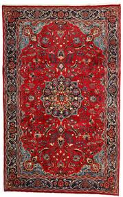 Mashad Tappeto 190X308 Orientale Fatto A Mano Rosso Scuro/Marrone Scuro (Lana, Persia/Iran)