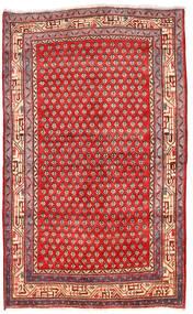 Arak Tappeto 125X205 Orientale Fatto A Mano Rosso Scuro/Rosso (Lana, Persia/Iran)