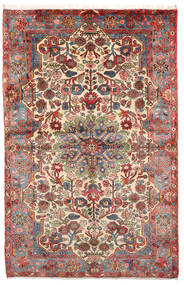 Nahavand Old Tappeto 152X236 Orientale Fatto A Mano Marrone Chiaro/Marrone Scuro (Lana, Persia/Iran)