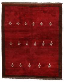 Gabbeh Persia Tappeto 155X190 Moderno Fatto A Mano Rosso Scuro/Rosso (Lana, Persia/Iran)