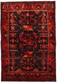 Hamadan Tappeto 143X208 Orientale Fatto A Mano Marrone Scuro/Rosso Scuro (Lana, Persia/Iran)