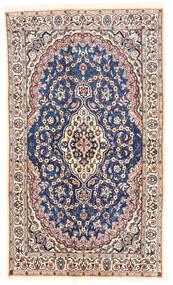 Nain Tappeto 120X203 Orientale Fatto A Mano Beige/Grigio Chiaro (Lana, Persia/Iran)