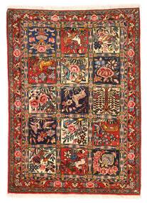 Bakhtiar Collectible Tappeto 110X154 Orientale Fatto A Mano Marrone Scuro/Rosso Scuro (Lana, Persia/Iran)