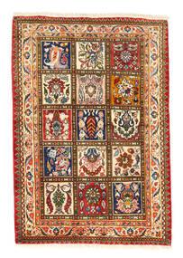 Bakhtiar Collectible Tappeto 105X150 Orientale Fatto A Mano Rosso/Grigio Scuro (Lana, Persia/Iran)