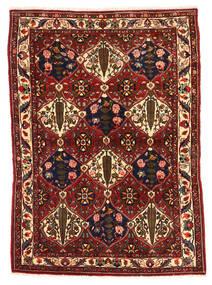Bakhtiar Collectible Tappeto 106X149 Orientale Fatto A Mano Rosso Scuro/Nero (Lana, Persia/Iran)