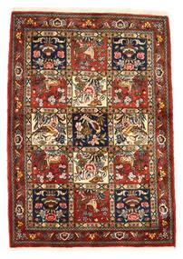 Bakhtiar Collectible Tappeto 111X156 Orientale Fatto A Mano Rosso Scuro/Marrone Scuro (Lana, Persia/Iran)