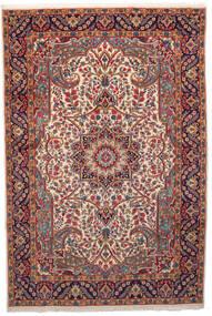 Kirman Tappeto 201X301 Orientale Fatto A Mano Rosso Scuro/Beige (Lana, Persia/Iran)