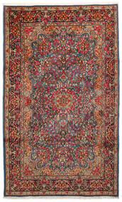 Kirman Tappeto 183X296 Orientale Fatto A Mano Marrone Scuro/Rosso Scuro (Lana, Persia/Iran)