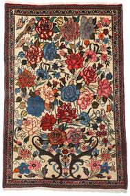 Bakhtiar Collectible Tappeto 100X154 Orientale Fatto A Mano Marrone Scuro/Beige (Lana, Persia/Iran)