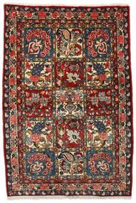 Bakhtiar Collectible Tappeto 107X156 Orientale Fatto A Mano Marrone Scuro/Rosso Scuro (Lana, Persia/Iran)