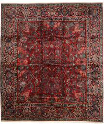 Saruk Tappeto 420X485 Orientale Fatto A Mano Rosso Scuro/Marrone Scuro Grandi (Lana, Persia/Iran)