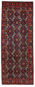 Mahal Tappeto 64X164 Orientale Fatto A Mano Alfombra Pasillo Rosso Scuro/Blu Scuro (Lana, Persia/Iran)