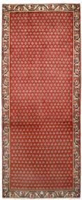 Saruk Mir Tappeto 79X197 Orientale Fatto A Mano Alfombra Pasillo Ruggine/Rosso/Marrone Scuro (Lana, Persia/Iran)