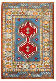 Turkaman Tappeto 57X60 Orientale Fatto A Mano Quadrato Grigio Scuro/Beige Scuro (Lana, Persia/Iran)