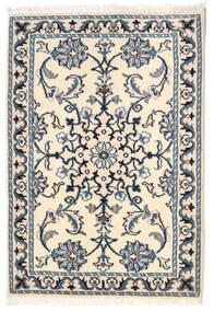 Nain Tappeto 61X88 Orientale Fatto A Mano Beige/Blu (Lana, Persia/Iran)