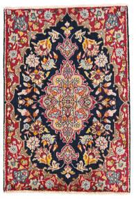 Kirman Tappeto 58X85 Orientale Fatto A Mano Grigio Scuro/Bianco/Creme (Lana, Persia/Iran)