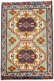 Turkaman Tappeto 59X89 Orientale Fatto A Mano Grigio Scuro/Beige (Lana, Persia/Iran)