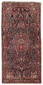 Bidjar Tappeto 151X302 Orientale Fatto A Mano Alfombra Pasillo Rosso Scuro/Nero (Lana, Persia/Iran)