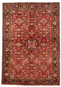 Hosseinabad Tappeto 113X163 Orientale Fatto A Mano Rosso Scuro/Ruggine/Rosso (Lana, Persia/Iran)