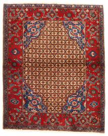 Koliai Tappeto 95X117 Orientale Fatto A Mano Rosso Scuro/Marrone Scuro (Lana, Persia/Iran)