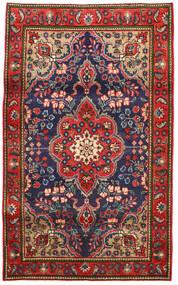 Tabriz Tappeto 100X165 Orientale Fatto A Mano Ruggine/Rosso/Grigio Scuro (Lana, Persia/Iran)