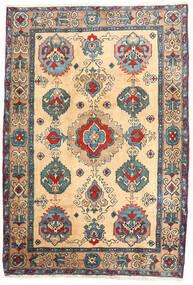 Ardebil Tappeto 114X168 Orientale Fatto A Mano Beige/Marrone Chiaro (Lana, Persia/Iran)