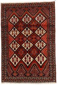 Afshar Tappeto 114X167 Orientale Fatto A Mano Marrone Scuro/Rosso Scuro (Lana, Persia/Iran)