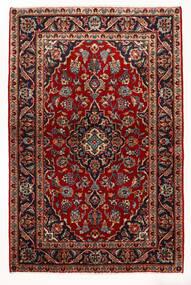 Keshan Tappeto 97X147 Orientale Fatto A Mano Rosso Scuro/Beige (Lana, Persia/Iran)