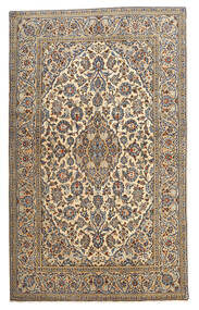 Keshan Tappeto 128X210 Orientale Fatto A Mano Beige/Grigio Scuro (Lana, Persia/Iran)