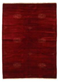 Huttan Tappeto 142X195 Orientale Fatto A Mano Rosso Scuro/Marrone Scuro (Lana, Pakistan)