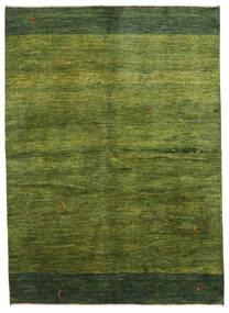 Gabbeh Persia Tappeto 165X230 Moderno Fatto A Mano Verde Scuro/Verde Oliva (Lana, Persia/Iran)