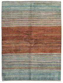 Gabbeh Persia Tappeto 148X198 Moderno Fatto A Mano Rosso Scuro/Grigio Chiaro (Lana, Persia/Iran)