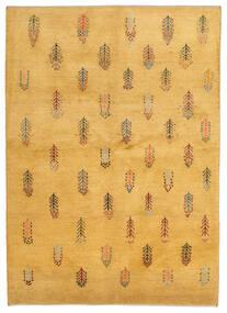 Gabbeh Persia Tappeto 145X203 Moderno Fatto A Mano Marrone Chiaro (Lana, Persia/Iran)