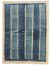 Gabbeh Persia Tappeto 154X210 Moderno Fatto A Mano Blu Scuro/Blu (Lana, Persia/Iran)