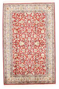 Cachemire Puri Di Seta Tappeto 78X121 Orientale Fatto A Mano Beige (Seta, India)