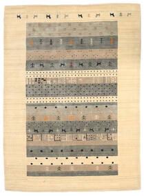 Loribaf Loom Tappeto 174X241 Moderno Fatto A Mano Beige/Grigio Chiaro (Lana, India)