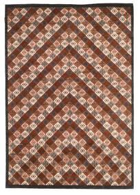Gabbeh Loribaft Tappeto 169X245 Moderno Fatto A Mano Marrone Scuro/Rosso Scuro (Lana, India)