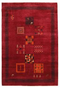 Gabbeh Loribaft Tappeto 145X215 Moderno Fatto A Mano Rosso/Rosso Scuro (Lana, India)