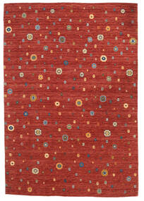 Loribaf Loom Tappeto 165X240 Moderno Fatto A Mano Ruggine/Rosso/Rosso Scuro (Lana, India)