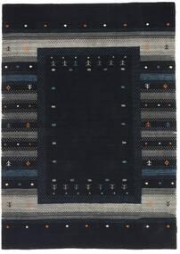Loribaf Loom Tappeto 165X243 Moderno Fatto A Mano Blu Scuro/Grigio Scuro (Lana, India)