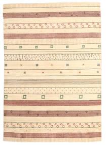 Loribaf Loom Tappeto 167X238 Moderno Fatto A Mano Beige (Lana, India)
