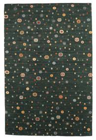 Loribaf Loom Tappeto 197X297 Moderno Fatto A Mano Verde Scuro (Lana, India)