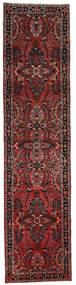 Lillian Tappeto 80X332 Orientale Fatto A Mano Alfombra Pasillo Rosso Scuro/Marrone Scuro (Lana, Persia/Iran)