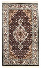 Tabriz Royal Tappeto 88X152 Orientale Fatto A Mano Grigio Scuro/Marrone Scuro ( India)