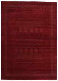 Gabbeh Loribaft Tappeto 201X281 Moderno Fatto A Mano Rosso Scuro (Lana, India)