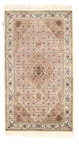 Tabriz Royal Tappeto 94X164 Orientale Fatto A Mano Beige/Marrone Chiaro ( India)